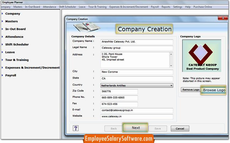 Employee Salary Software