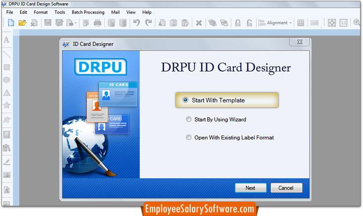 Id Card Design Software Tag Badges Designer Program Create Photo